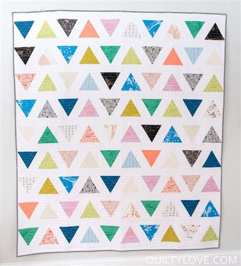 Triangle Patchwork Quilt Patterns - 359 best triangle quilts images on quilting