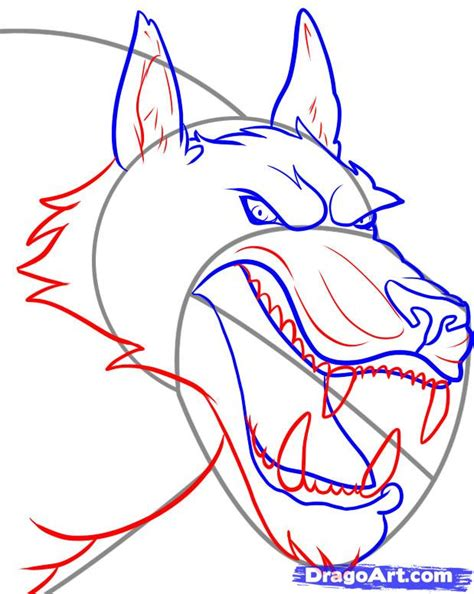 werewolf drawing tutorial how to draw werewolves step by step werewolves monsters