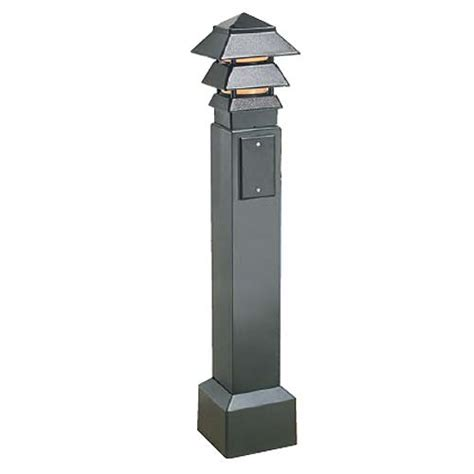 Outdoor L Post With Electrical Outlet by Outdoor Electrical Box Dimensions Outdoor Free Engine