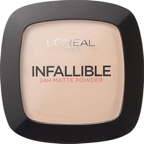 L Oreal Infallible Powder l oreal infallible powder various shades health