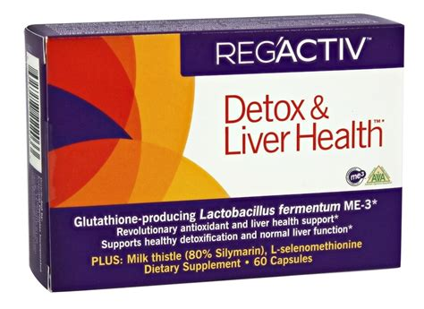 Reg Activ Detox Liver Health Reviews by Buy Essential Formulas Reg Activ Detox Liver Health