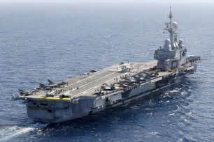 charles de gaulle aircraft carrier kaleidoscope chinadaily