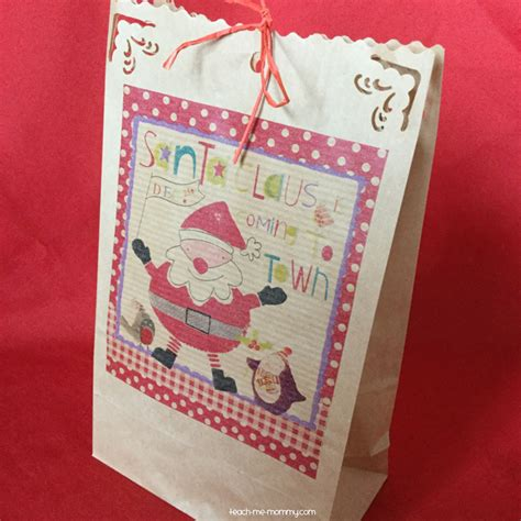 Simple Paper Bag - 100 paper bag gift wrap eat drink and be merry