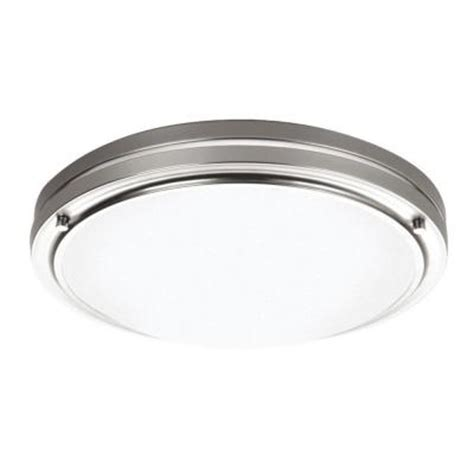 philips west end 2 light satin nickel ceiling fixture