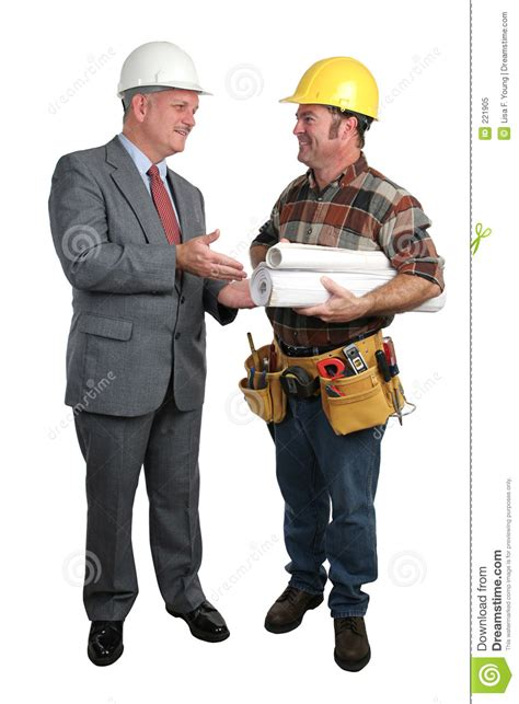 Blueprint Program architect and contractor royalty free stock photo image
