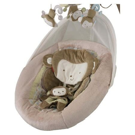 monkey swing target fisher price my little snugamonkey special edition cradle