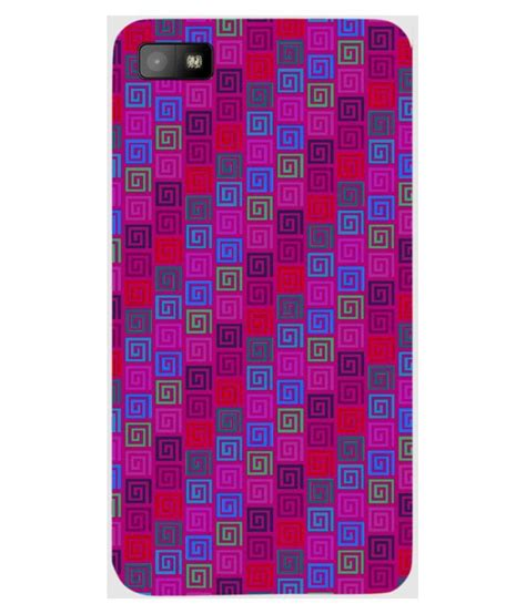 pattern password for blackberry z10 mobile case print design pattern magenta for blackberry