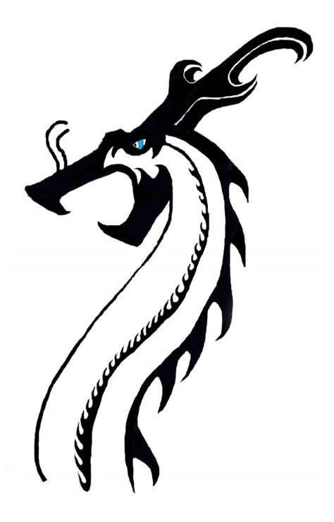 simple asian tattoo design simple dragon images clipart best