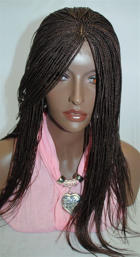 how much is singalese twist with human hair fully hand braided lace front wig micro braids color 33