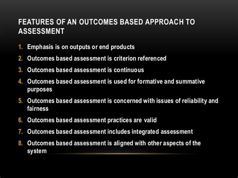 thesis about outcome based education outcome based education