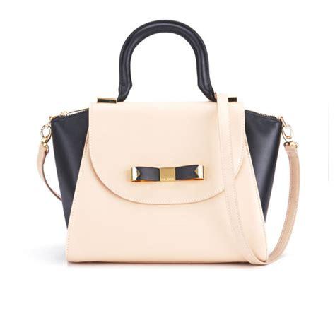 Stadivarius Mini Tote Bag ted baker bow leather mini tote bag taupe