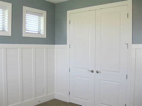Wainscoting Bathroom Ideas lec cabinets board amp batten wainscoting