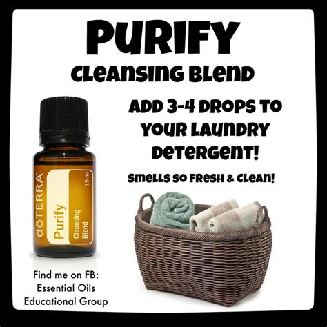Doterra Detox Blend by Doterra S Purify Cleansing Blend Great For Laundry Find