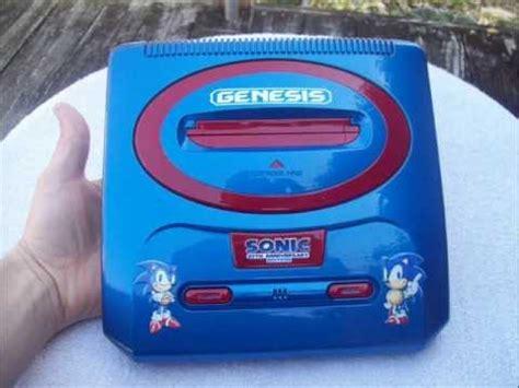 sega genesis sales custom sonic 20th anniversary sega genesis with 2 controls