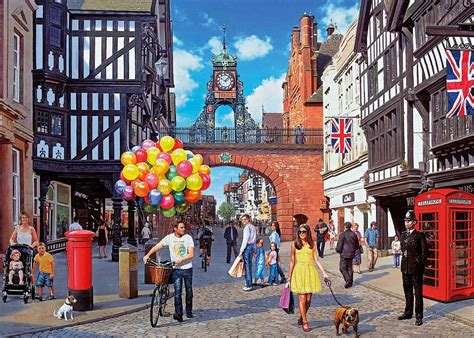 Puzzle Tombol Tranport gibsons chester jigsaw puzzle 1000 pieces pdk