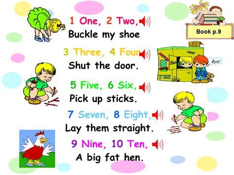 One Two Buckle Shoe Three Four Shut The Door by 1 2 Tie Shoe 3 4 Shut The Door Images