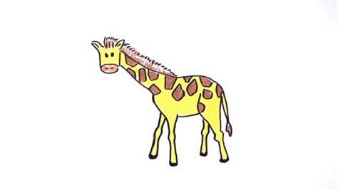 imagenes de jirafas faciles de dibujar caricatura de la jirafa imagui