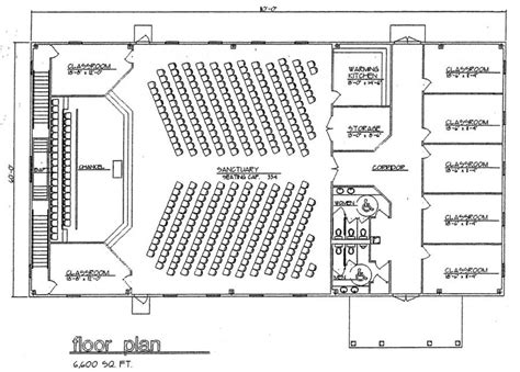 Superior One Community Church Plano Texas #9: Church%20Plan%20124%20Floor%20Plan.jpg