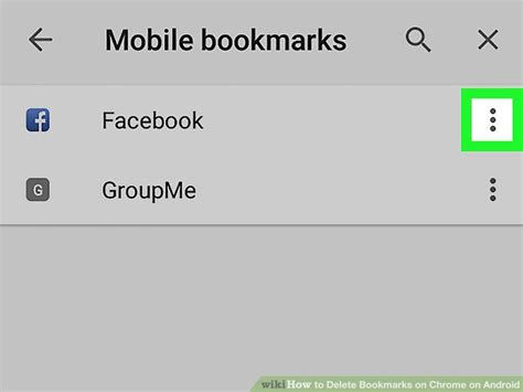 uninstall chrome android how to delete bookmarks on chrome on android 5 steps