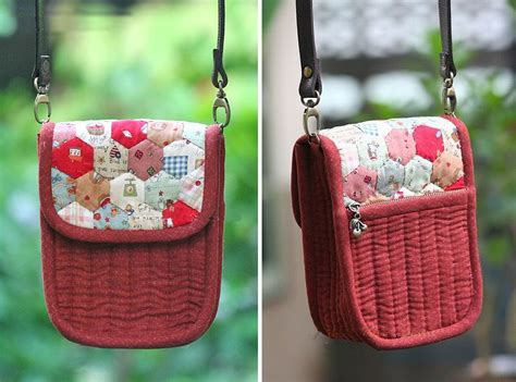 tutorial tas zipper patchwork and quilted purse diy tutorial ideas