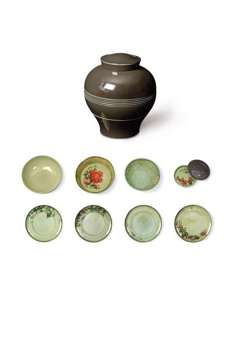 Exclusive Yuan Yang Tea Set yuan dinner service set of 8 stackable pieces grey