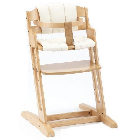 new babydan danchair wood high chair with seat cushion ebay
