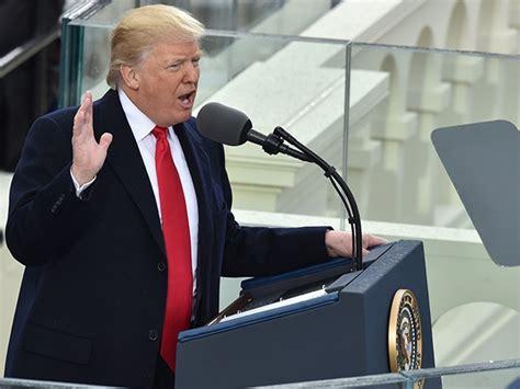 donald trump inauguration speech complete text of president donald trump s inaugural address