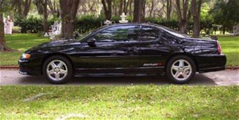 purchase used 2000 chevy mont carlo ss orig 70 000 mi blk v6 leath pwr heated seats cold air