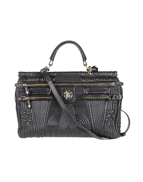 Roberto Cavalli Acapulco Large Hobo Purses Designer Handbags And Reviews At The Purse Page by Roberto Cavalli Large Leather Bag In Black Lyst
