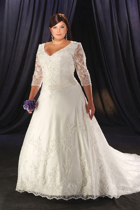 brautkleider mollige plus size wedding dresses dressed up