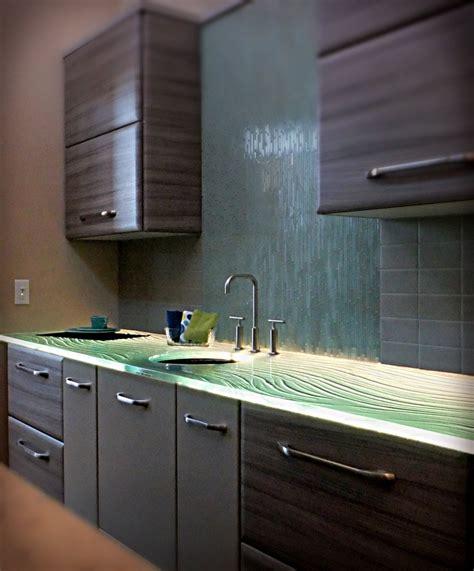 Clear Glass Countertops by 1000 Images About Glass Countertops On