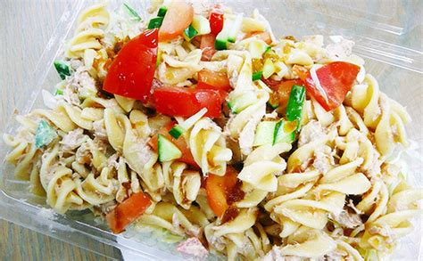 Easy Cold Pasta Salad how to make cold tuna pasta salad quick and easy food