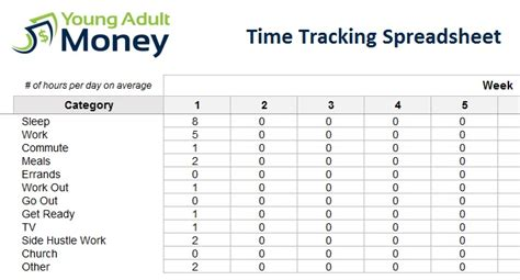 Time Spreadsheet by Tracking Time Chords Image Mag