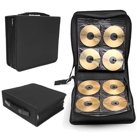 Promo Storage Box 4 Sekat 4 Sisi Cloth Organizer large 288 disc cd dvd storage box oxford cloth carry bag binder book sleeves rack holder