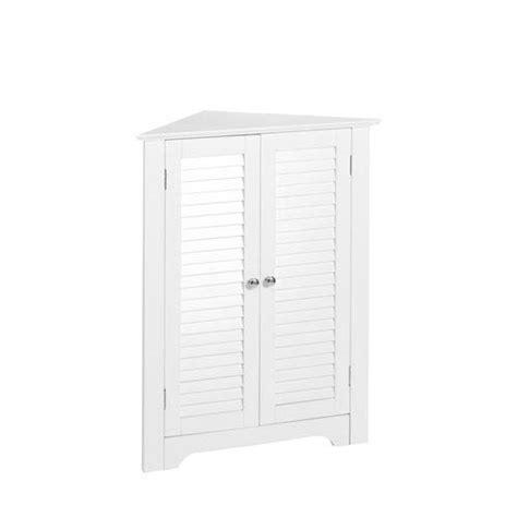 Corner Cabinet White by White Corner Cabinet Bellacor
