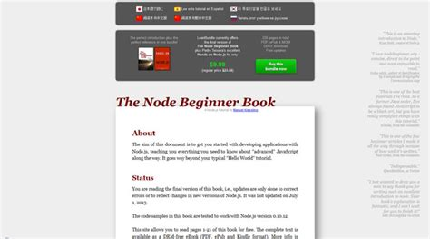 node js beyond the basics advanced topics about the node js runtime books want to learn node js here are some useful tutorials