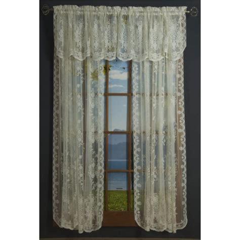 Scottish Lace Curtains Fiona Scottish Lace Curtain Panel And Valances Shopbedding