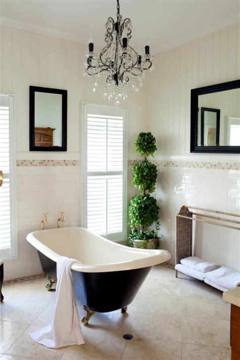 Bath Shower Glass Panels french twist in a classic bathroom interior design ideas