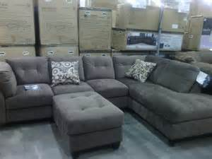 gray sectional sofa costco comfy sectional costco basement redo