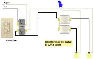 gfci and double rocker issues doityourself com community