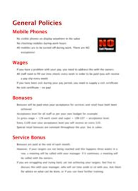 1000 Images About Salon Marketing Templates Policies And Procedures On Pinterest Templates Marketing Policies And Procedures Template
