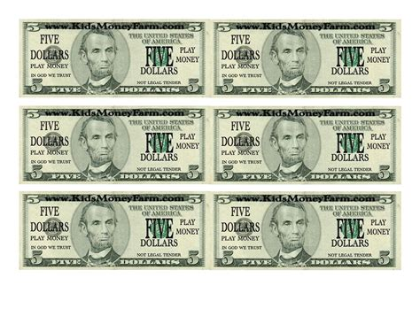 free printable fake play money best photos of printable fake money bills fake money 100