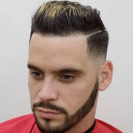 Different styles of haircuts for men