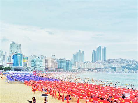 Busan Haeundae Beach   South Korea Adventure   BiiBiiBap