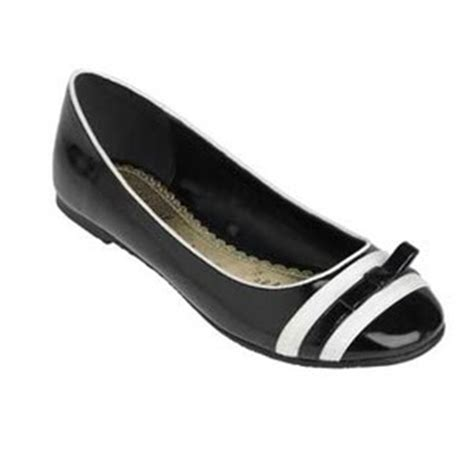 black and white flat shoes black and white stripe patent bow pumps flat low heel