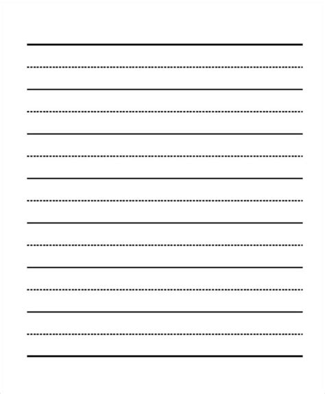 school writing paper template 29 printable lined paper templates free premium templates