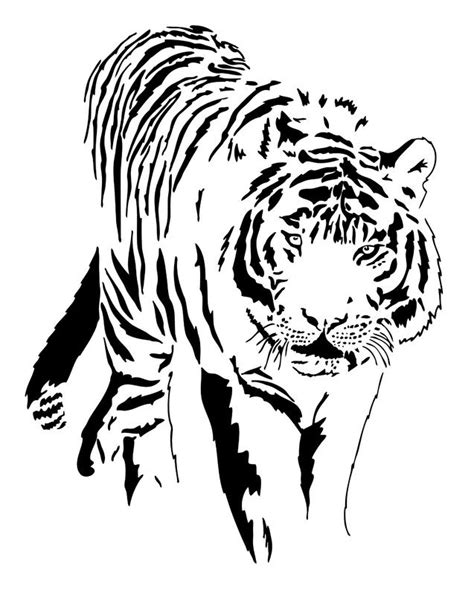 black and white tiger tattoo 40 black and white designs