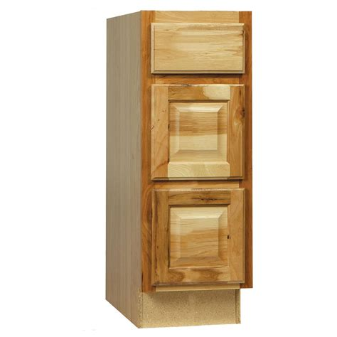 Cabinet Door Glides Hton Bay Hton Assembled 12x34 5x21 In Bath Vanity Drawer Base Cabinet With Bearing