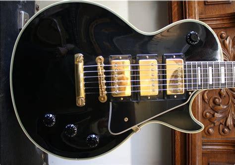 Novelty Guitar Knobs by Gibson Custom Shop Les Paul Custom 57 Mickey Baker