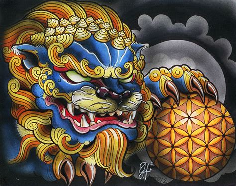 japanese foo dog flash www pixshark com images